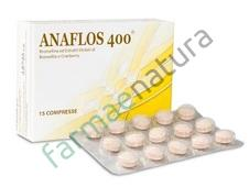 ANAFLOS 400 INT 400MG 15CPR