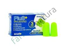 EARPLUG SCUDO PLUS 3 COPPIE